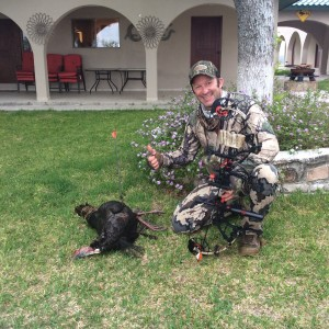 bow hunting for turkey at Stuart Ranches